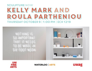 Sculpture Now with Kelly Mark and Roula Partheniou