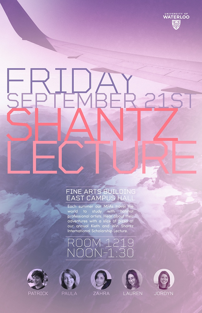 Poster for 2018 Shantz presentations