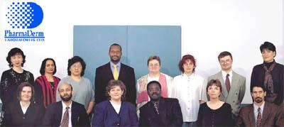 Group members of PharmaDerm.