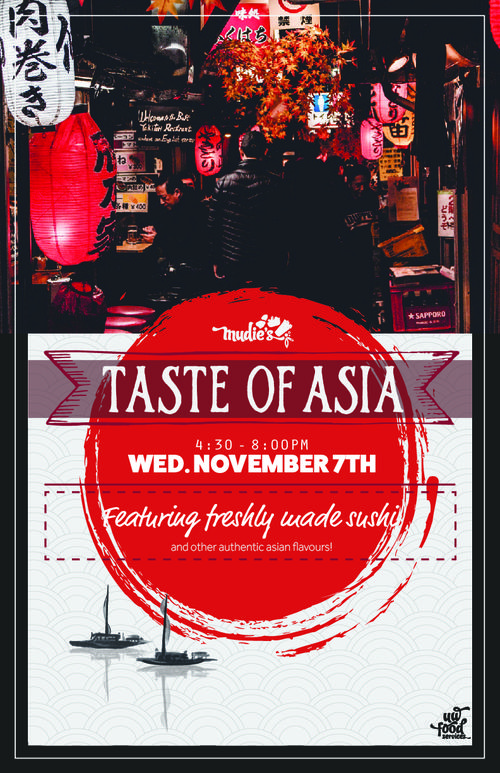 Taste of Asia promotional poster