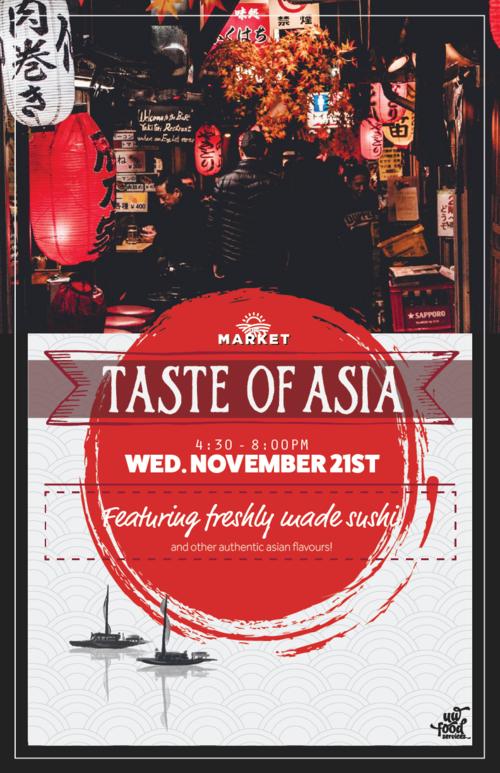Taste of Asia poster