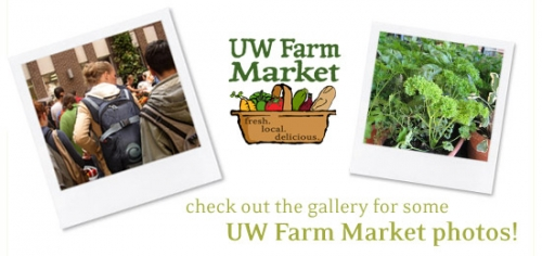 Check out the gallery for some UW Farm Market photos!