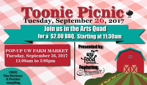 Toonie Picnic Poster