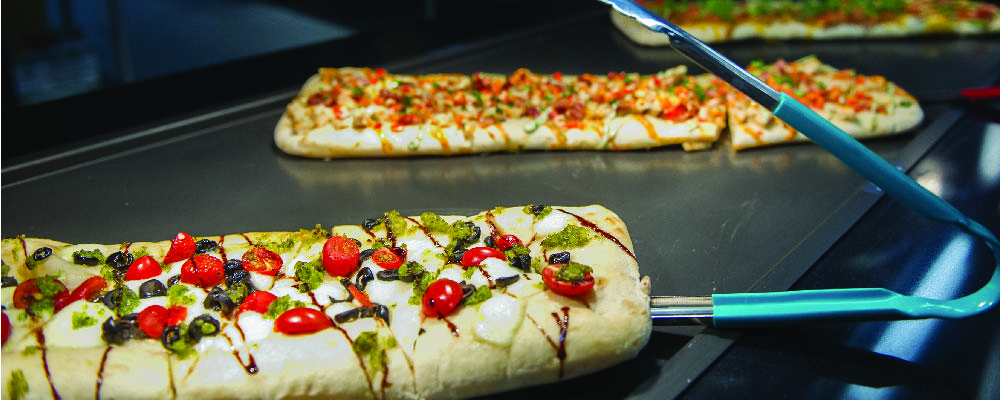 Flatbreads on the board