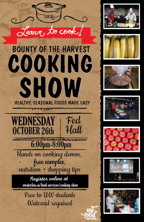 Bounty of the Harvest Cooking Show