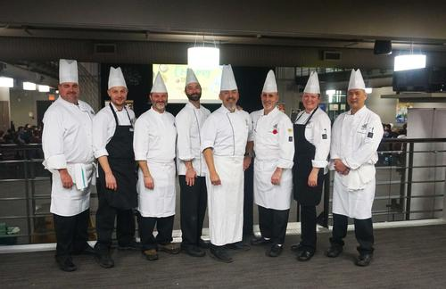 Photograph of a group of chefs together