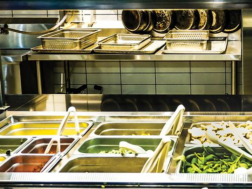 pasta bar at Claudette Millar Hall eatery named the market