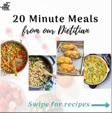 20 minute meals booklet