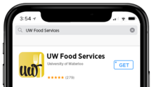UW Food Services in App Store