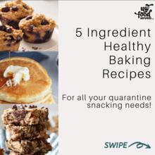 5 ingredient health baking recipes