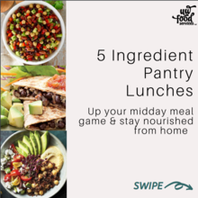 5 ingredient lunches