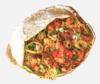 Twisted spicy chicken pita image