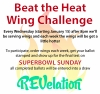 Beat the heat - wing challenge