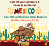Dust off your sombrero and come to our fiesta! Four days of Mexican features