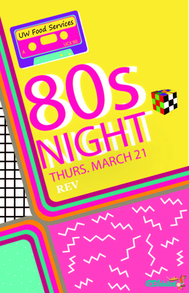 80s Night Thurs March 21 REV