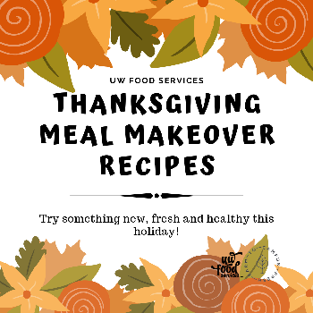 Thanksgiving Meal Makeover Recipes