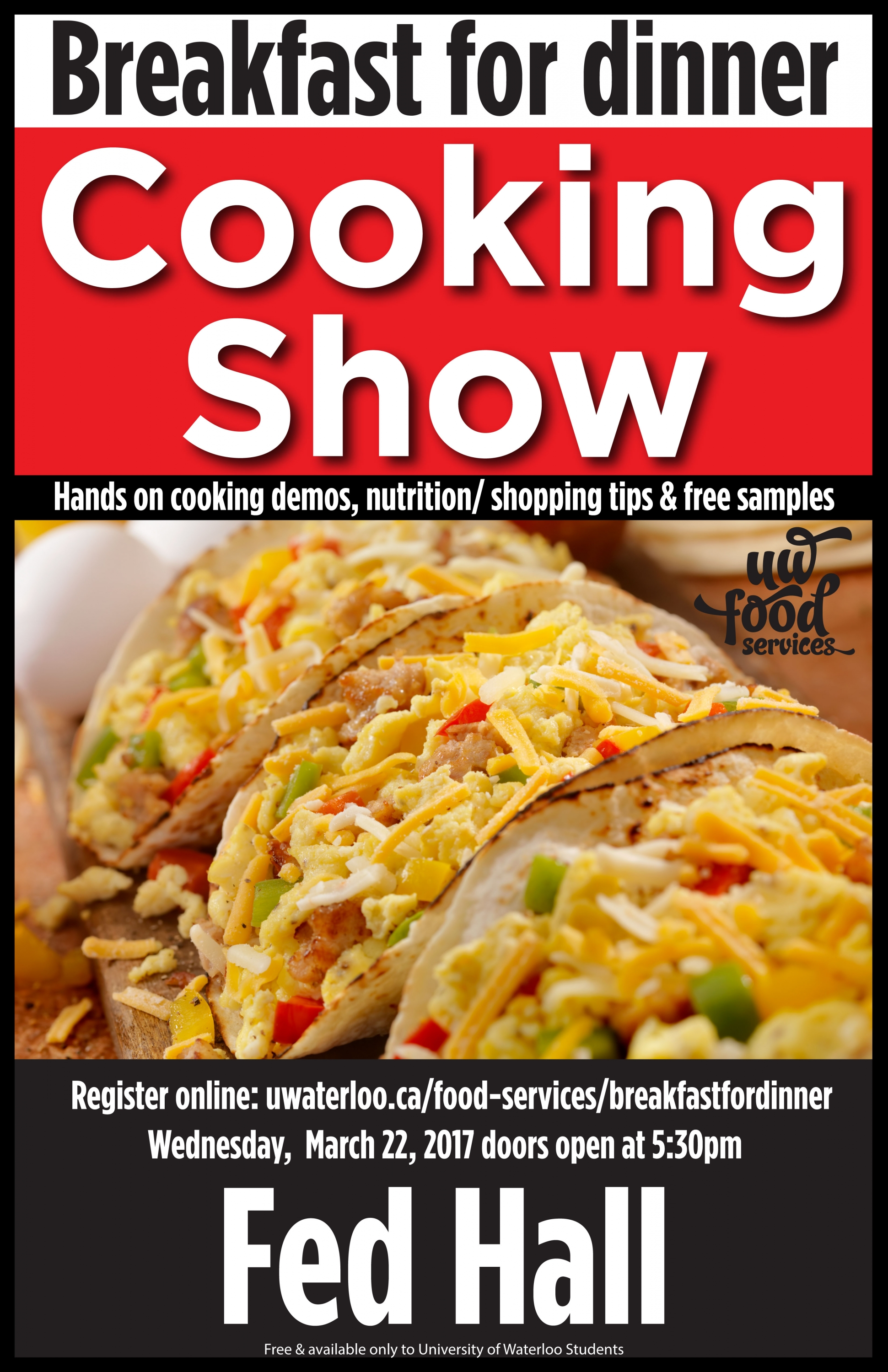 cooking show poster
