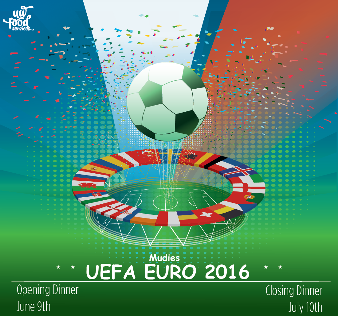 Euro 2016 Opening Dinner June 9th Closing Dinner July 10th
