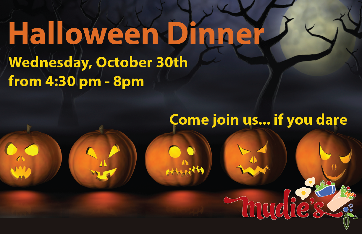 Halloween Themed Dinner