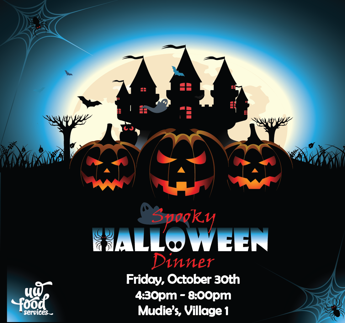 Halloween Dinner V1 October 30 4:30pm-8:00pm