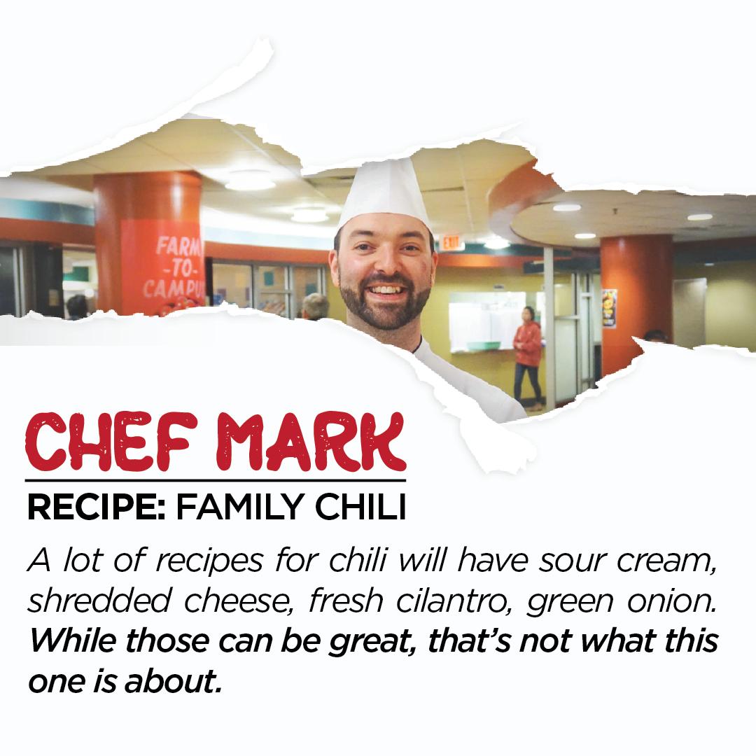 Chef Mark Instagram Promo