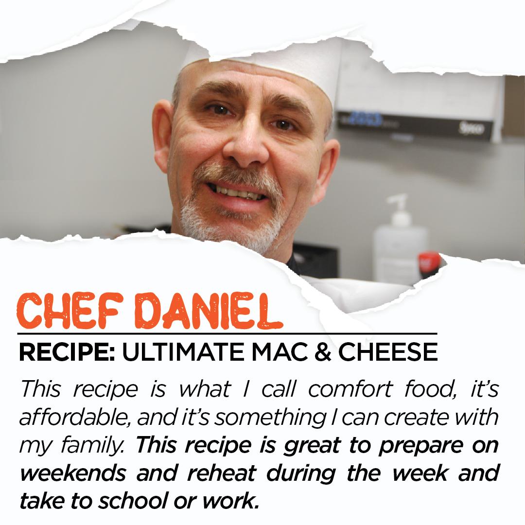 Chef Daniel Photo and Description