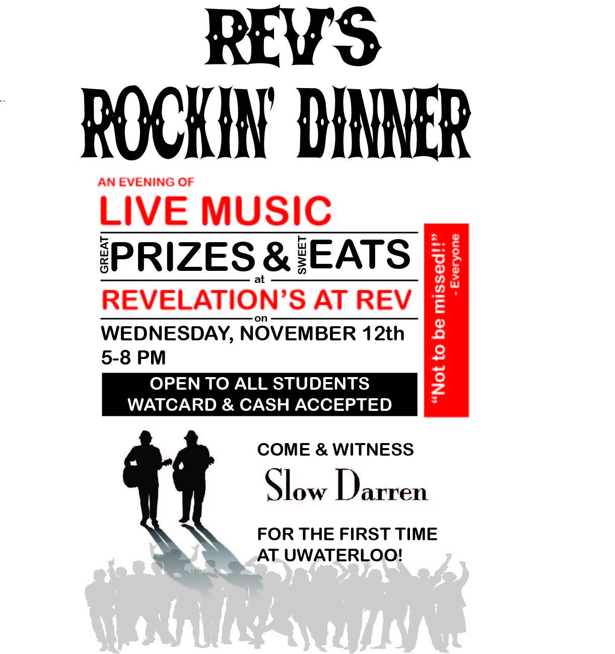 REV's Rockin' Dinner