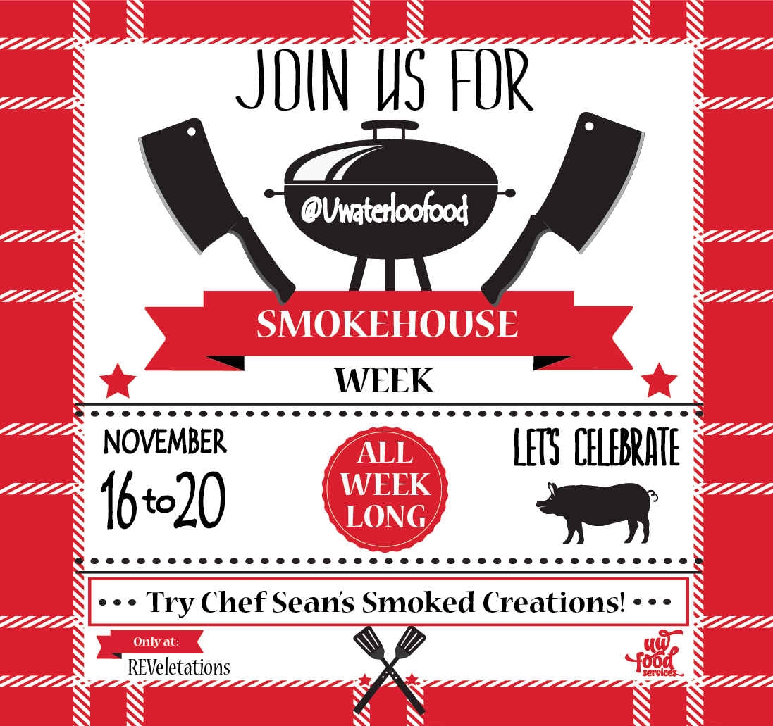 Smokehouse week at REV November 16-20
