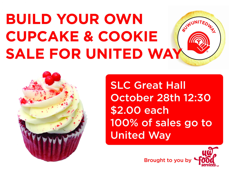 United Way Cupcake Poster