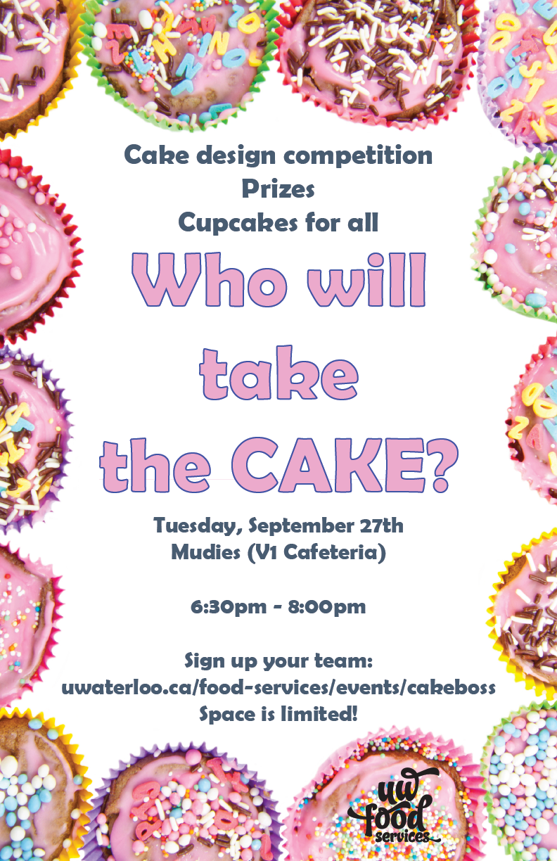 Who will take the Cake? Free cake decorating competition for UW students