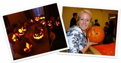 pumpkin scultures