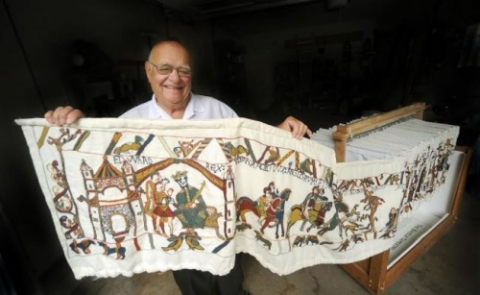 Ray Dugan and the bayeux tapestry