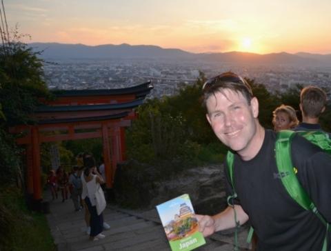 Steven au Japon