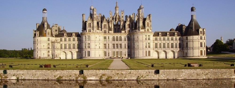 Picture of Chambord Castle in France