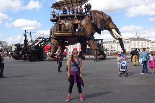 The Great Elephant at the Machines of the Isle of Nantes