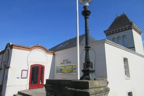 Jules Verne Museum in Nantes