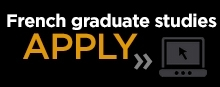 French Graduate Studies - Apply