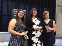 Melissa, Tara, and Elora