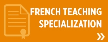 French Teaching Specialization