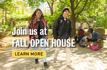 Join us at Fall Open House