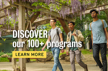 Discover Waterloo's 100 programs