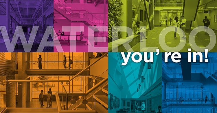 colourful you're banner