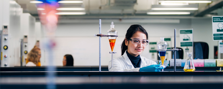 A student in the Chemistry program at the University of Waterloo.