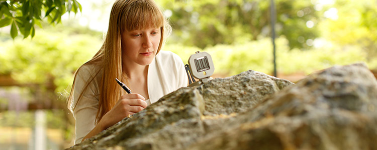 A student in the Earth Sciences program at the University of Waterloo.