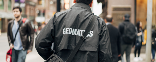 A Geomatics student.