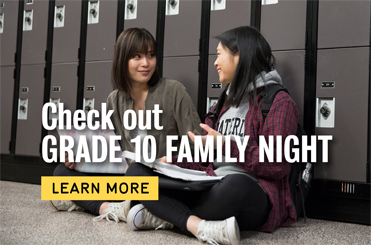 Join us for Grade 10 Family Night