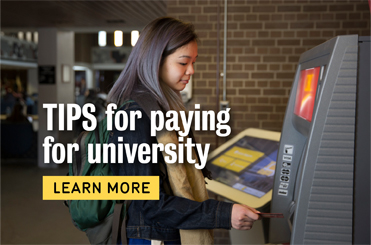Tips for paying for university