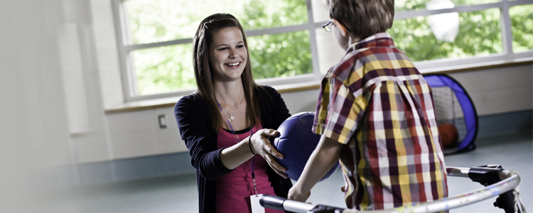 A student in the Therapeutic Recreation program at the University of Waterloo.
