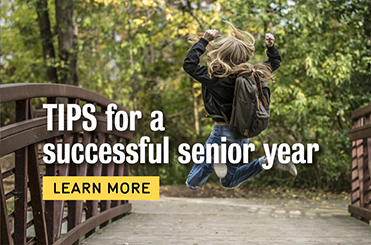 Click for tips for a successful senior year