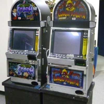 Money Storm and Lucky Larry Slot Machines